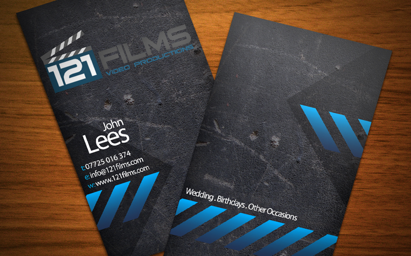 Masterz design solution for web 121 films 121 films business card reheart Images